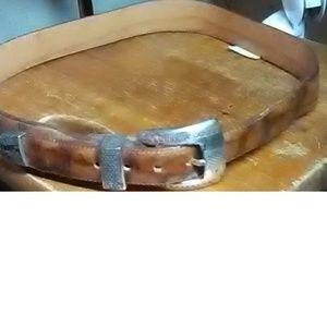 Brighton Brown Alligator Leather Belt Size 30